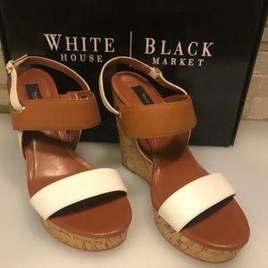 White House Black Market Sadie Wedges